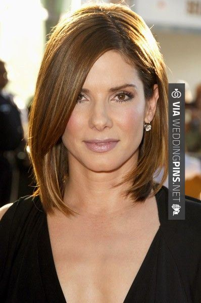 Round Face Hairstyles 2015 This straight long bob with long