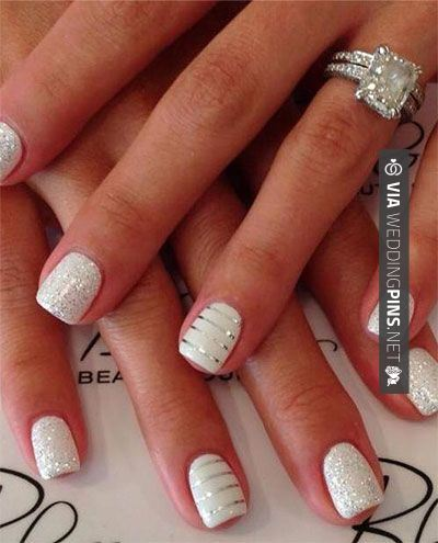 Wedding Nails 2015 20 Gel Nail Art Designs Ideas Trends Stickers